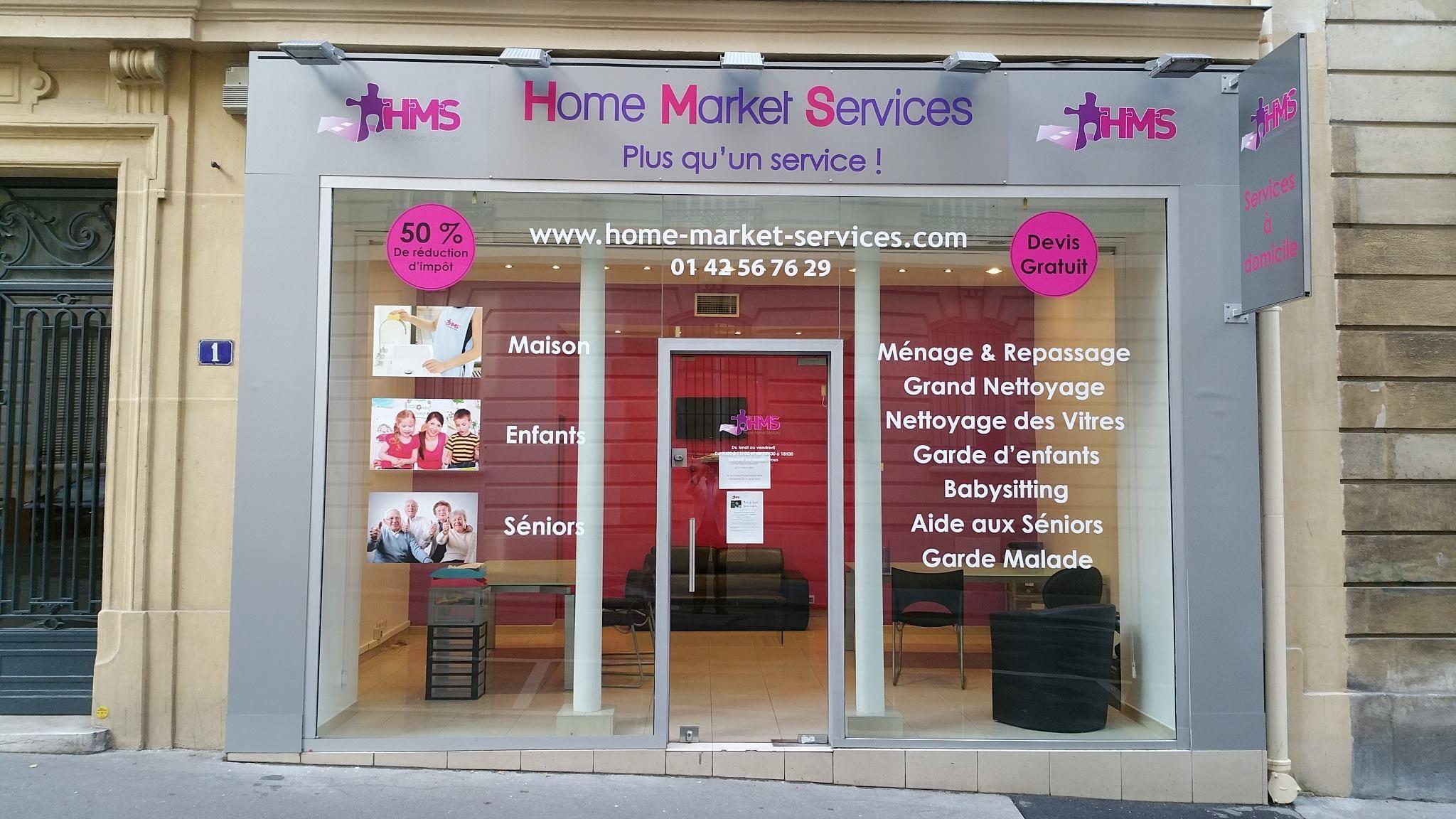 Agence Home Market Services Victor Hugo, 100 Avenue Victor Hugo 75016 Paris